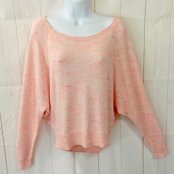 American Eagle Outfitters Sweaters - AEO Space Dyed Knit Slouchy Crop Sweater